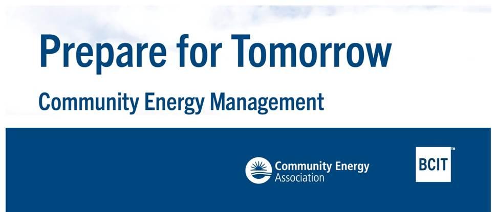 Certification In Community Energy Management Community Energy