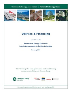 utilities and financing pg