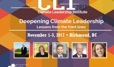 Two New Speakers Added to the Climate Leadership Institute Program